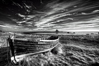 Holy Island Black and White No#2