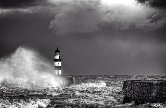 Seaham Black and White No3