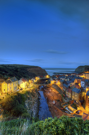 Staithes Dusk no# 3