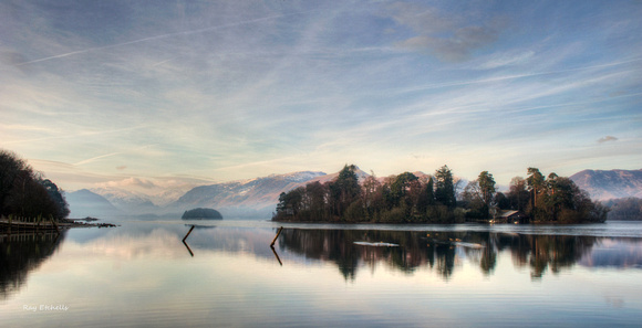 Derwent Water, Lake District, UK.