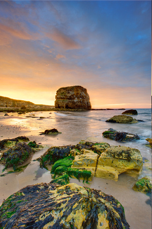 Marsden Rock Sunset