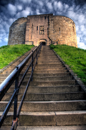 Ciffords Tower, York,UK.
