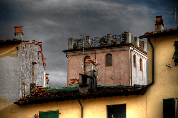 Lucca Rooftops, Italy