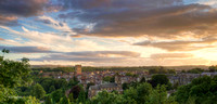 Richmond Panorama, North Yorks.