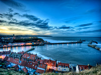 Whitby Bay Dusk