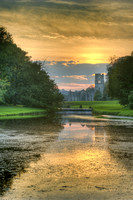 Fountains Abbey Sunset no#1