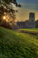 Fountains Abbey Sunset no#2