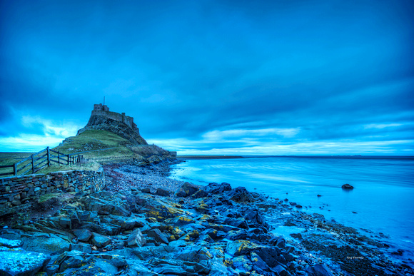 Holy Island Blue Dawn No 1