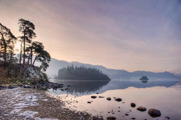 Friars Crag, Derwent Water, Lake District, UK.