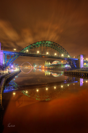 Quayside Reflections #1
