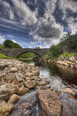 River Swale near Keld, Swaledale, North Yorkshire, UK.