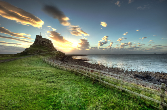 Holy Island Sunrise