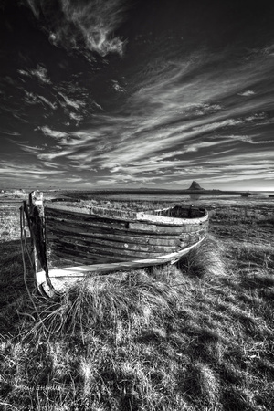 Holy Island Black and White No#4